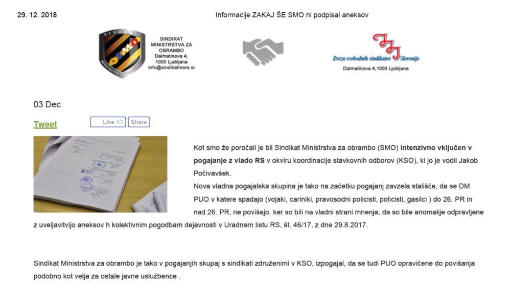 Pogajanja v Koordinaciji stavkovnih odborov in o podobnem povišanju, ki smo mu priča 1. novembra