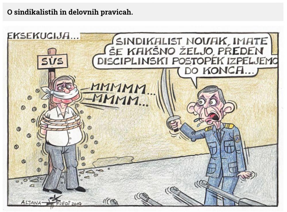 Eksekucija - Sarkastične napovedi iz poletne karikature Slovenskih novic se uresničujejo